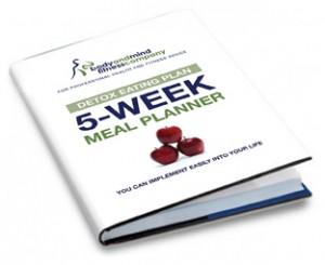 Detox Eating Plan: 5-Week Meal Planner
