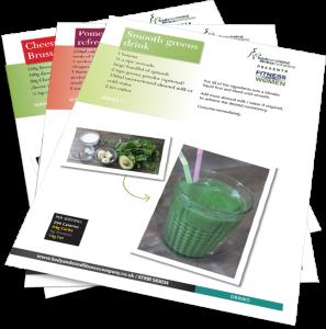 Recipes graphic image