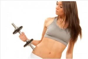 women's weight training
